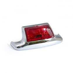 Rear Fender Tip with Light - RED lens - H-D
