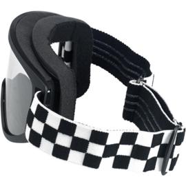 Goggles - Biltwell - Checkered Race - MOTO 2.0
