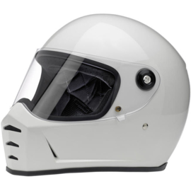 Biltwell - Lane Splitter Helmet - Gloss White (ECE)