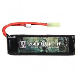 LI-PO BATTERY 7.4V -2600 MAH