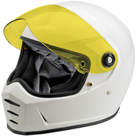 Visor Lane Splitter Shield, Yellow - ANTI-FOG