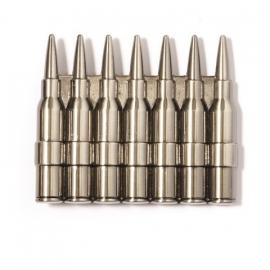 B159 - Belt Buckle - Rifle Bullets