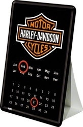 Harley-Davidson Mini Table Calendar - Kalender