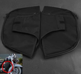 Soft Lowers Chaps Leg Warmer for Harley Touring