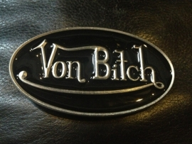 B109 - Belt Buckle - Von Bitch