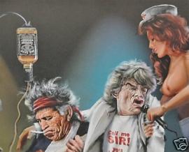 Flag - Rolling Stones - Geriatric Tour