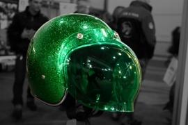 Bandit Jet - Bubble Visor Green