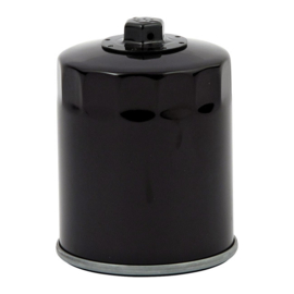 Oil Filter - MAGNETIC OIL FILTER - SPIN-ON - WITH TOP NUT / BLACK
