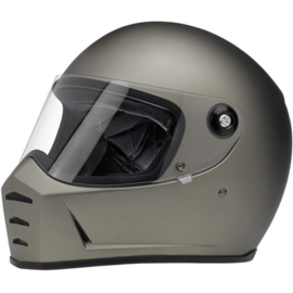 Biltwell - Lane Splitter Helmet - Flat Titanium (ECE)