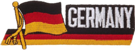 055 - PATCH - Waving German flag - GERMANY - Deutsche Flagge - Deutschland