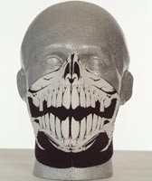 Bandero Face Mask - Raptor Skull