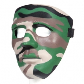 Face Mask - Full - Assault Team - Camouflage Green