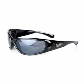 Sunglasses - winged - Biker - Smoke 060