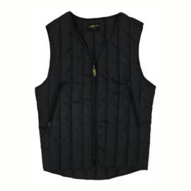 Black Biker Vest - MCS WorkWear