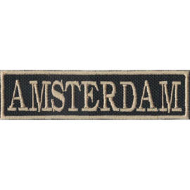 Golden PATCH - Flash / Stick - AMSTERDAM - the Netherlands