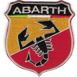PATCH - shield - Italian Car logo - ABARTH