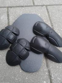 3XL ONLY - Protective Moto Shirt - Steelgrey Black Checker KLVR
