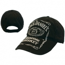 Jack Daniels - Adjustable Vintage Black Cap