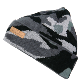 Roll Beanie - Urban Camouflage