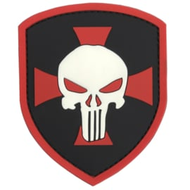 Patch - PUNISHER skull in a maltese cross