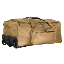 Large Travel Trolley Bag - Coyote / Sand - 120ltr