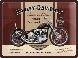 SOLD OUT - Harley-Davidson - Tin Sign - H-D Panhead