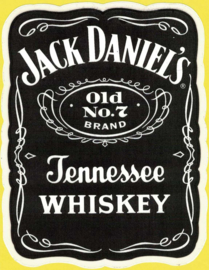 Jack Daniels - Old no.7 Jack Daniel`s - Decal/Sticker - Square