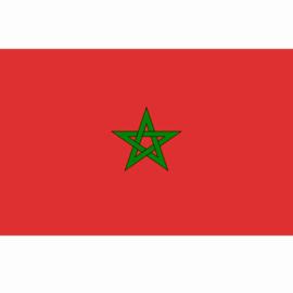 Vlag - Morroco flag - Maroc - Marokko