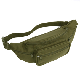 Army Contractor Waist bag - 5 zippers - choose color