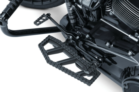 RIOT Black floor Boards - Kuryakyn H-D