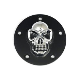 Skull Point Cover - Chrome / Black - TC 99-17