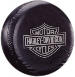 Harley-Davidson - Tire Cover - Grey Logo