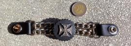 Vest Extender - Double Chain - Maltese Cross