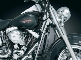 Kuryakyn - Down Tube Covers 00-06 Softail