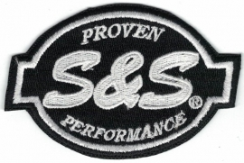 231 - Patch - S&S Proven Performance - Black