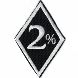 PATCH - diamond - 2 % - two percent