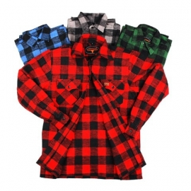 Lumber Jack is Back! - Longhorn Flannel Shirt - 4 colors