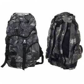 Recon BackPack - Rain Protector - Dark / Night Camouflage - 15/25/35 ltr