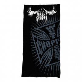 Tunnel - Tube - West Coast Choppers - WCC - Black Riding Skull