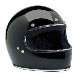 BiltWell - Gringo Helmet - Glossy Black / Chrome - ECE