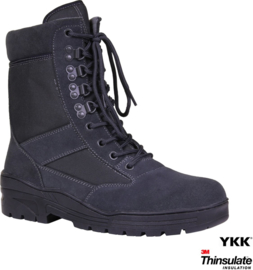 Sniper / Combat Boots - Wolf Grey - Limited Edition (Zipper)