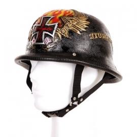 German Helmet, 3D - Dices & Cross / Sturgiss