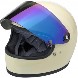 Biltwell Gringo S - Shield Visor - Anti-FOG - Rainbow  Mirror