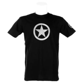 T-shirt Army Grey Star (Black)