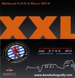 x 2014/06, 06-07-08-09 jun. - Benelux HOG Rally - Luxemburg