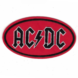 PATCH - oval - AC/DC - AC-DC ACDC
