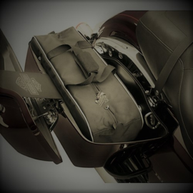 Touring Saddlebags Liners  - Navy Blue - Heavy Duty Bags