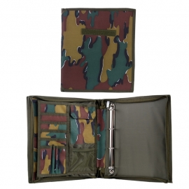 Card File Ordner - Camouflage BE - A4 sized
