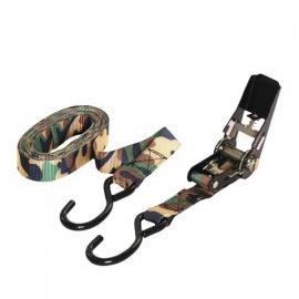 Strap - tie down army camo 4,5 meter