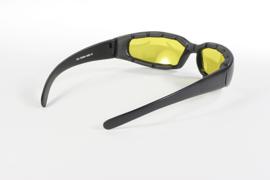 Sunglasses - Kickstart - padded sunglasses - RALLY - Yellow/Black by KD's